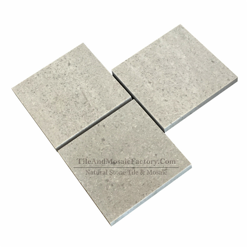Starlight 4x4″ Polished Grey Limestone Tile