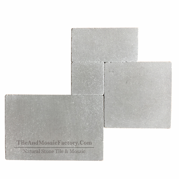 Starlight Versailles Pattern Tumbled Antique Grey Limestone Model 2